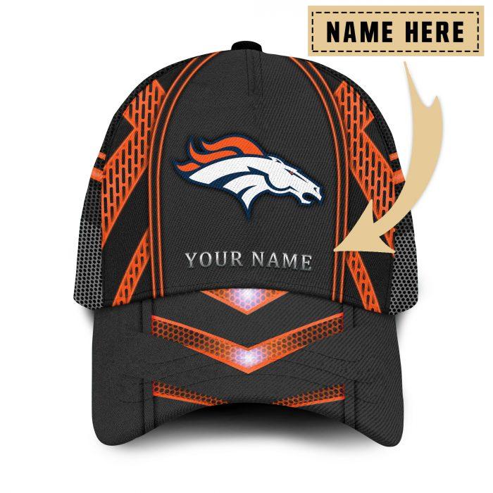 Custom Name NFL DENVER BRONCOS classic Trucker Cap