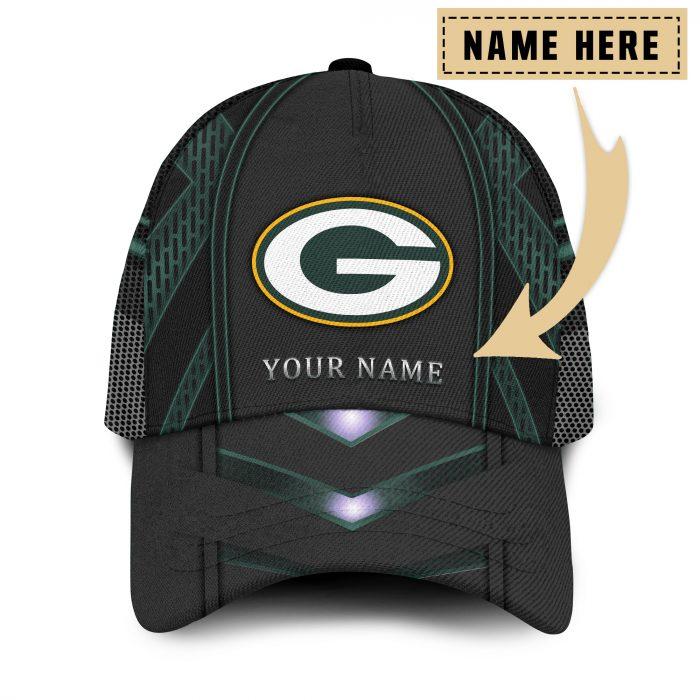 Custom Name NFL GREEN BAY PACKERS classic Trucker Cap
