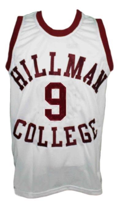 Dwayne Wayne Hillman College Basketball Jersey White Tank top
