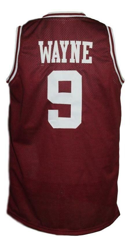 Dwayne Wayne Hillman College Maroon Basketball Jersey Red Tank top
