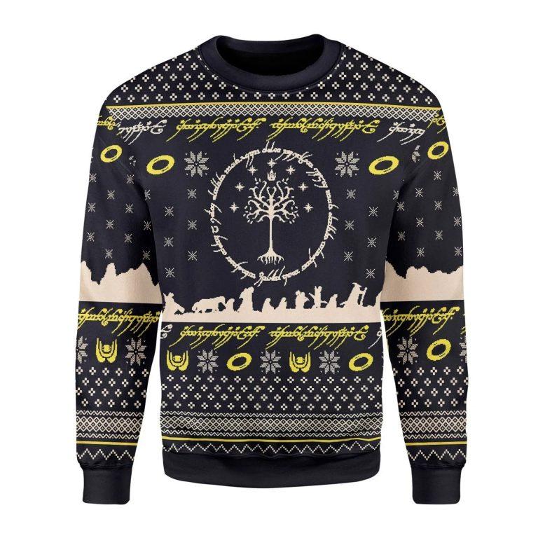 Elvish Circle Ugly Christmas Sweater