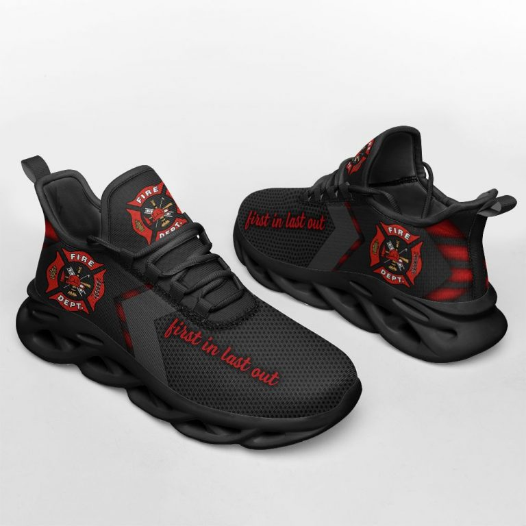 Firefighter First In Last Out Max Soul Shoes