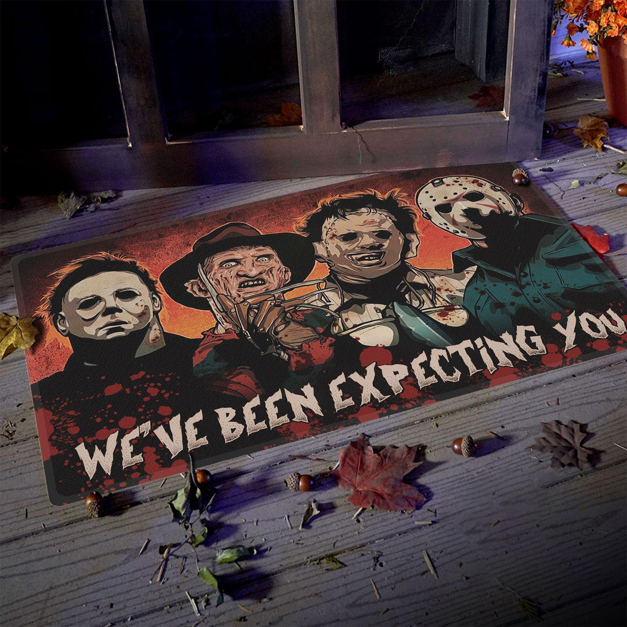 Horror characters We have been Expecting You Doormat