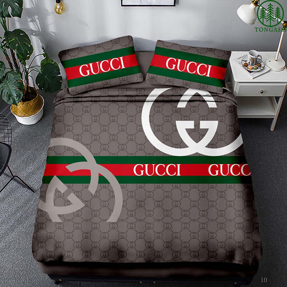 Gucci luxury duvet cover and pillow
