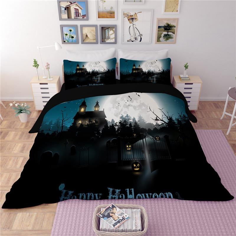 The Headless Horseman Halloween Themed Bedding Sets