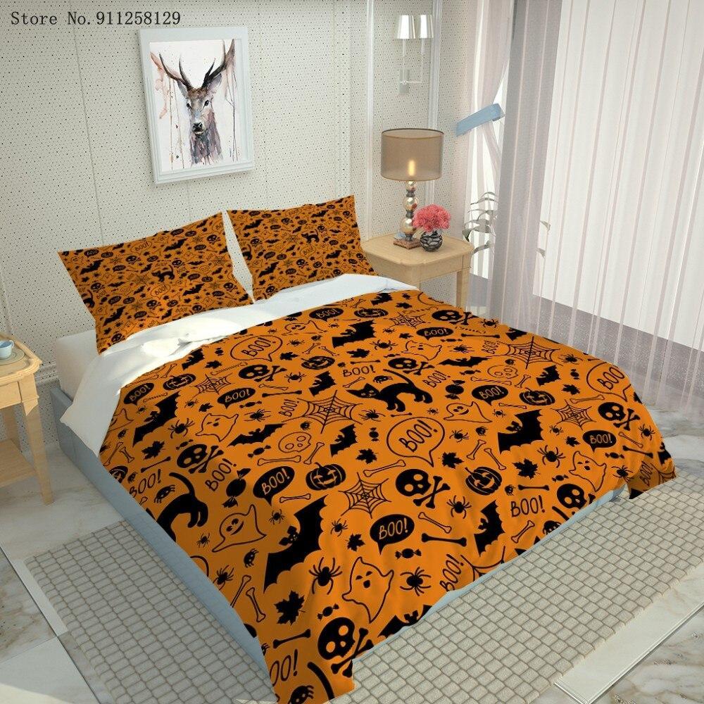 Halloween pattern cute Bedding Set
