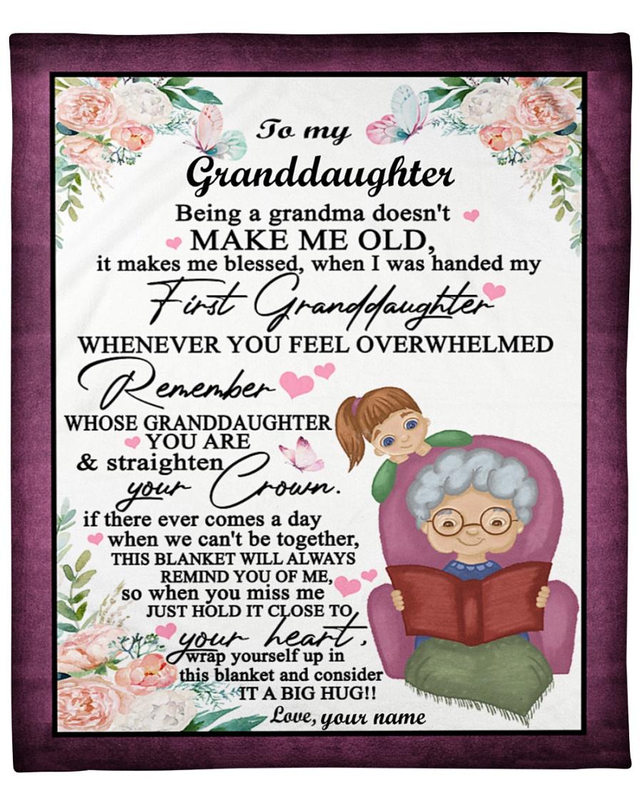 Grandma Special gift for your granddaughter blanket