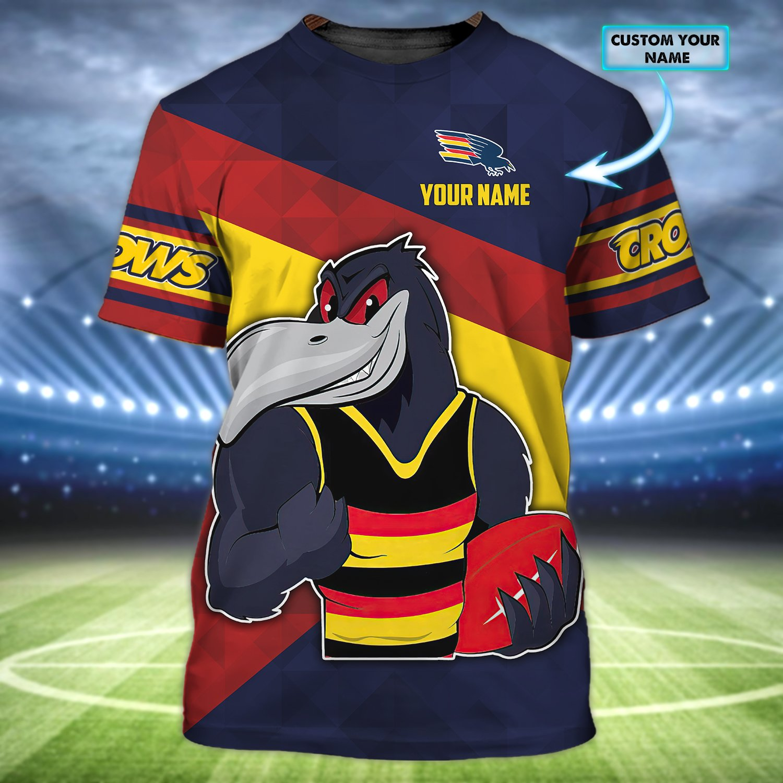 Crows Custom Name 3D Tshirt