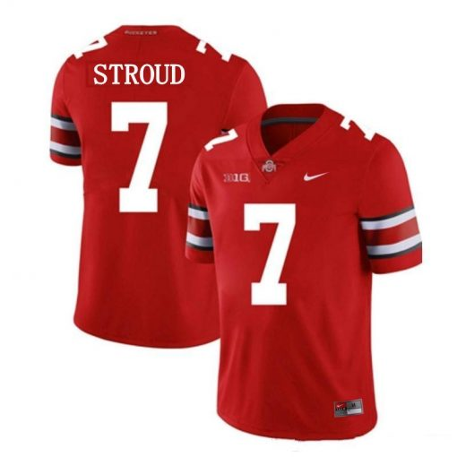 Ohio State Buckeyes 7 CJ Stroud College Football Jersey Red