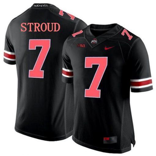 Ohio State Buckeyes 7 CJ Stroud NCAA College Football Jersey Black