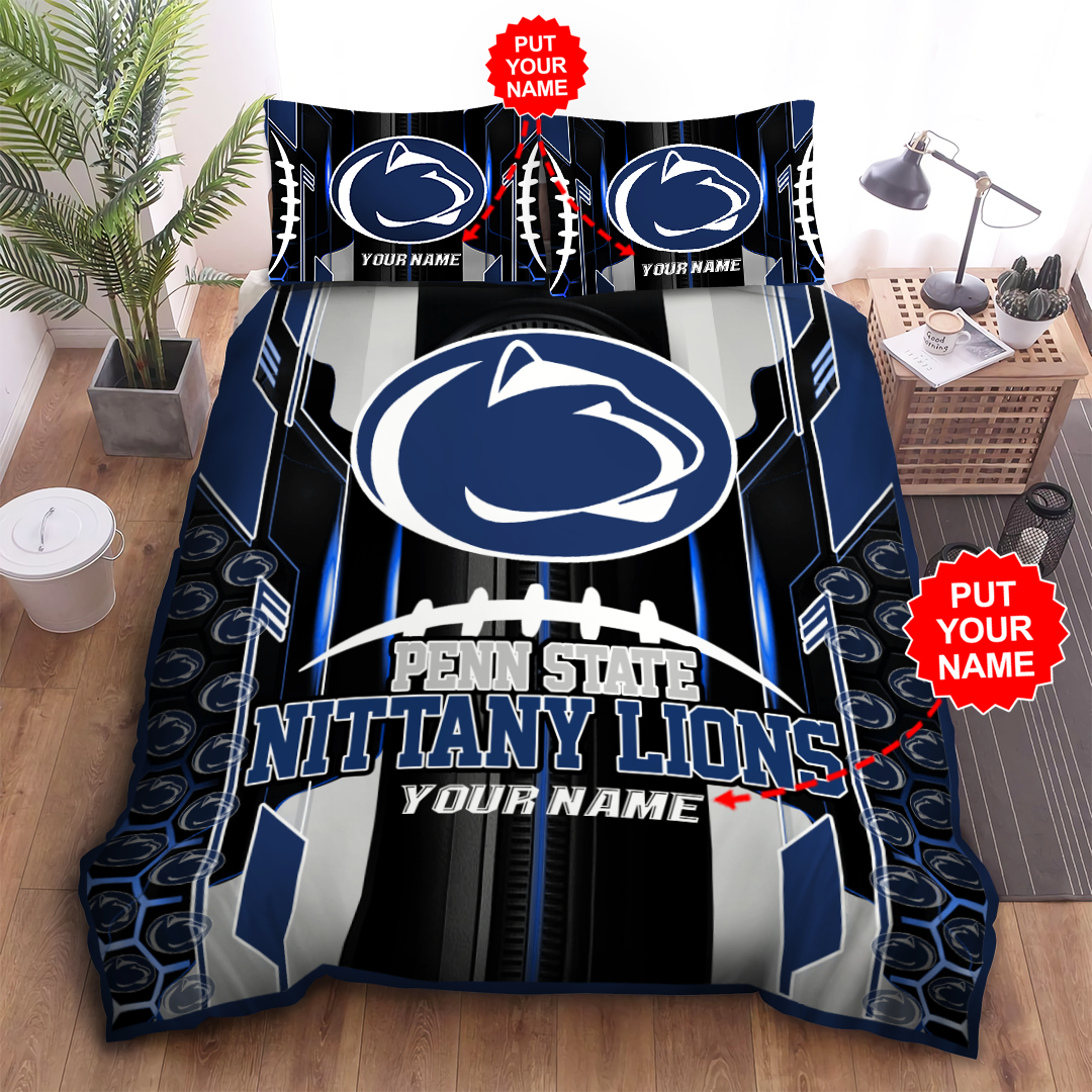 Personalized PENN STATE NITTANY LIONS Bedding Set
