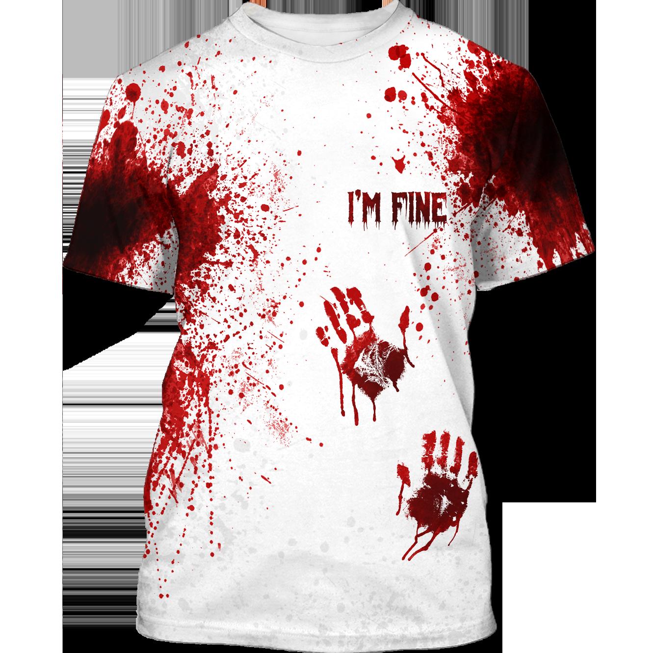 Halloween horror Blood Tshirt Sweatshirt Hoodie
