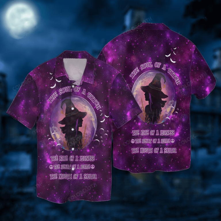 The Sound of A Witch Halloween Hawaiian Shirts