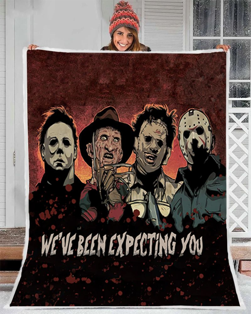 We have been expecting you murder collection Fleece blanket