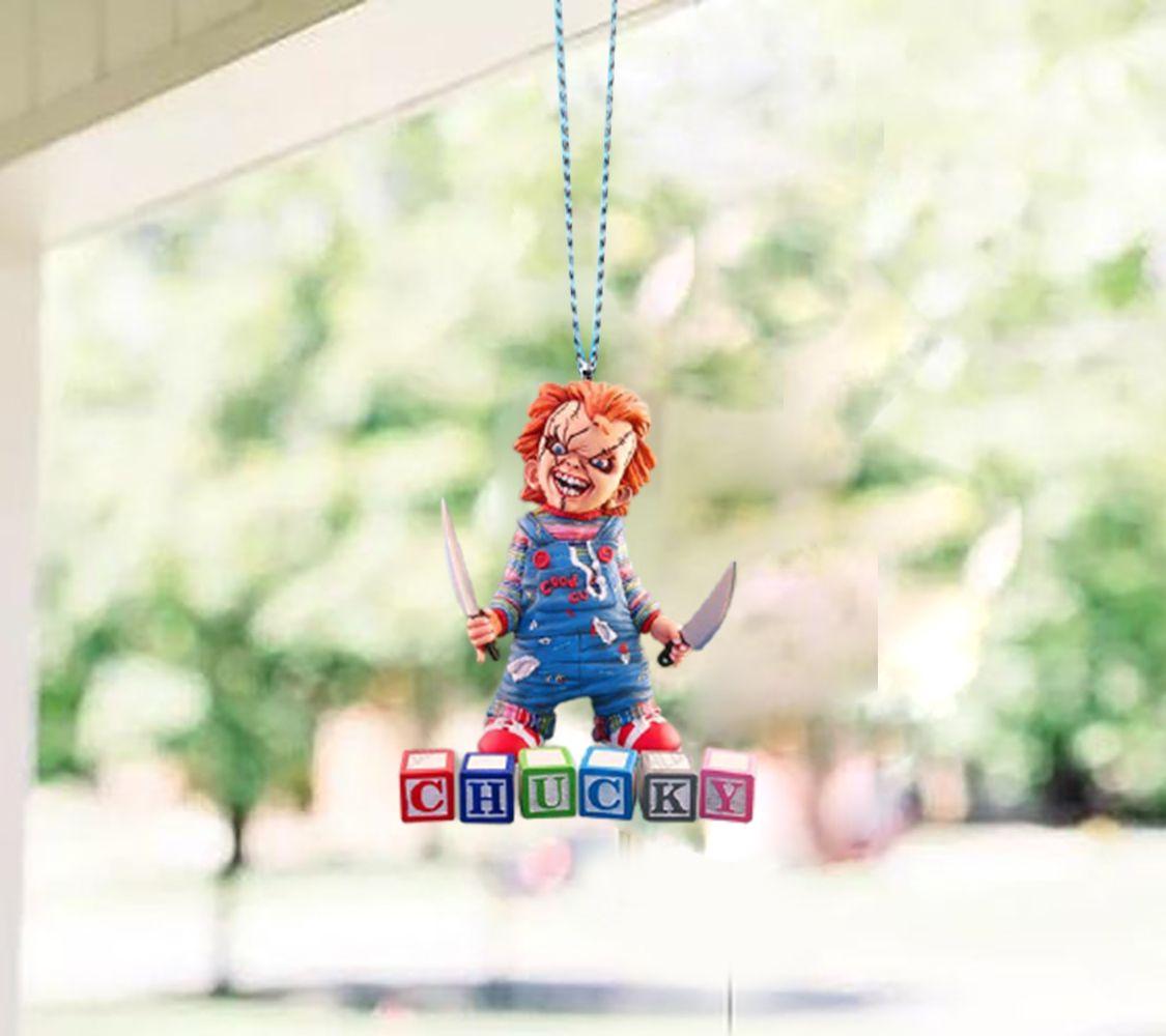 Chucky Children Window Hanging Ornament