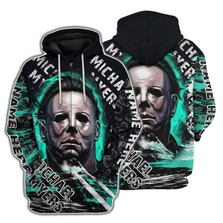 Michael Myers Halloween Custom Name 3D Shirt