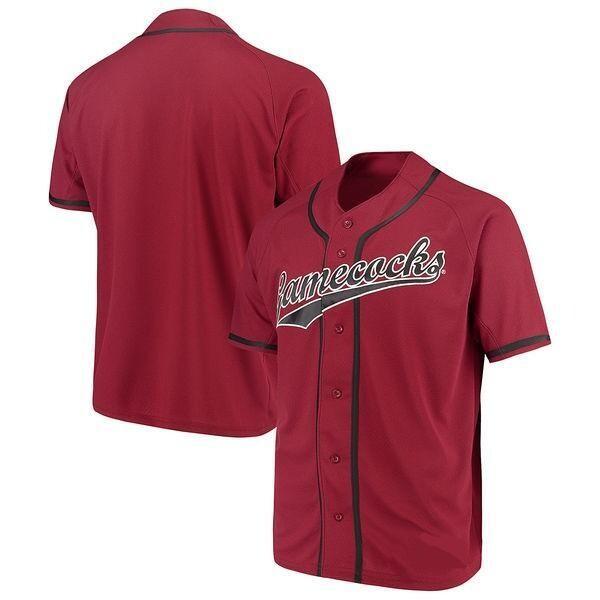 South Carolina Gamecocks College Baseball Jersey Red shirt