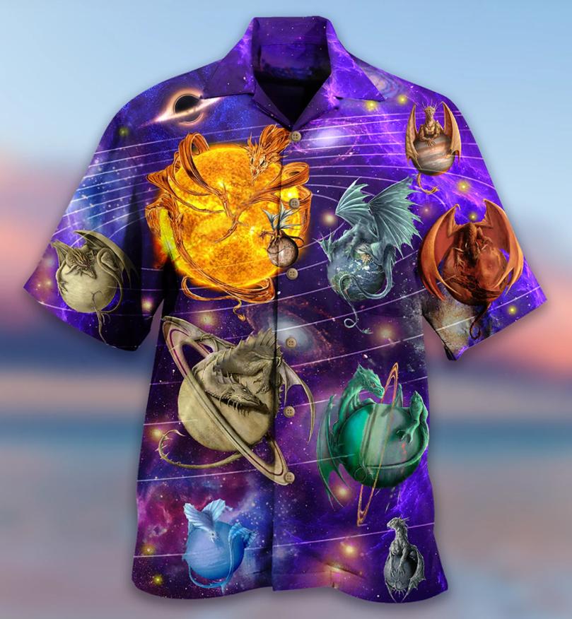 Dragon Planet Love Life Hawaiian Shirt