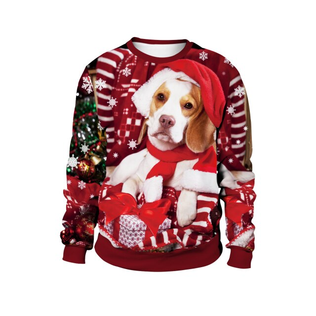 Golden Retriever Christmas Sweater