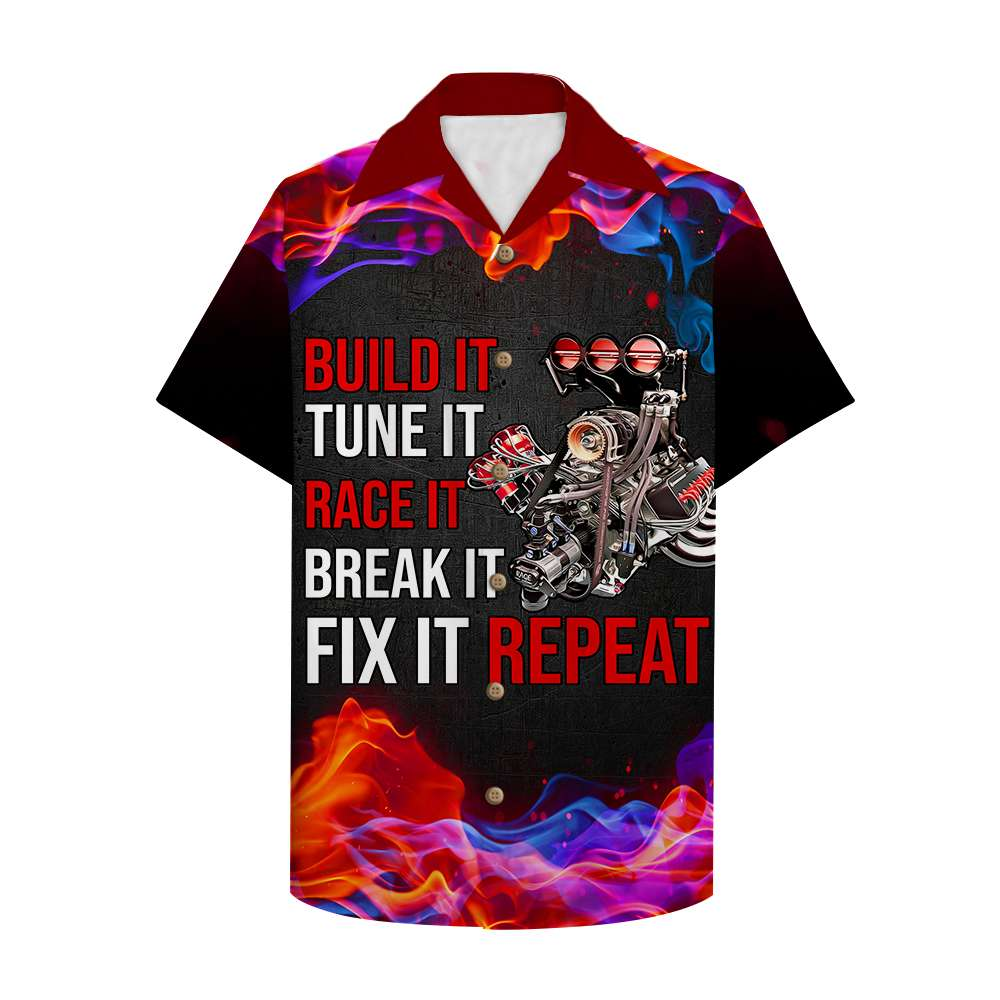 Drag Racing Fix it Hawaii Shirt