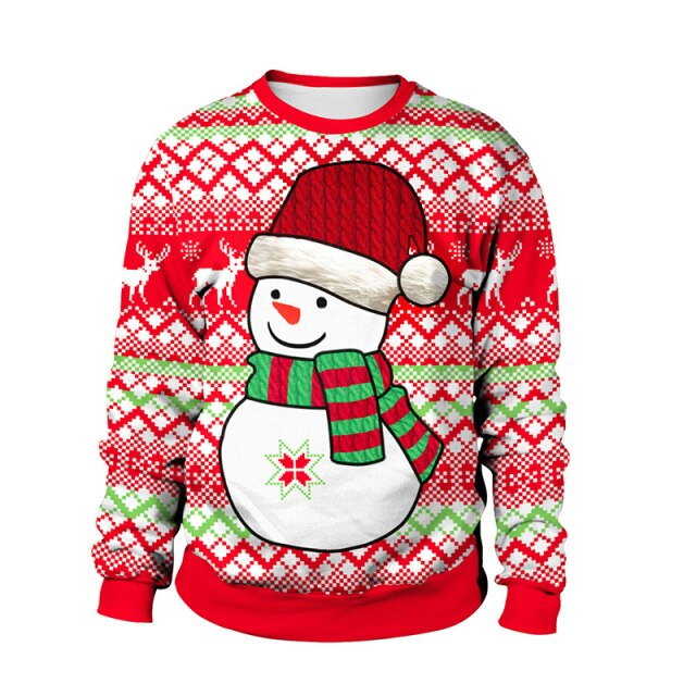 Normal Snowman Christmas Sweater
