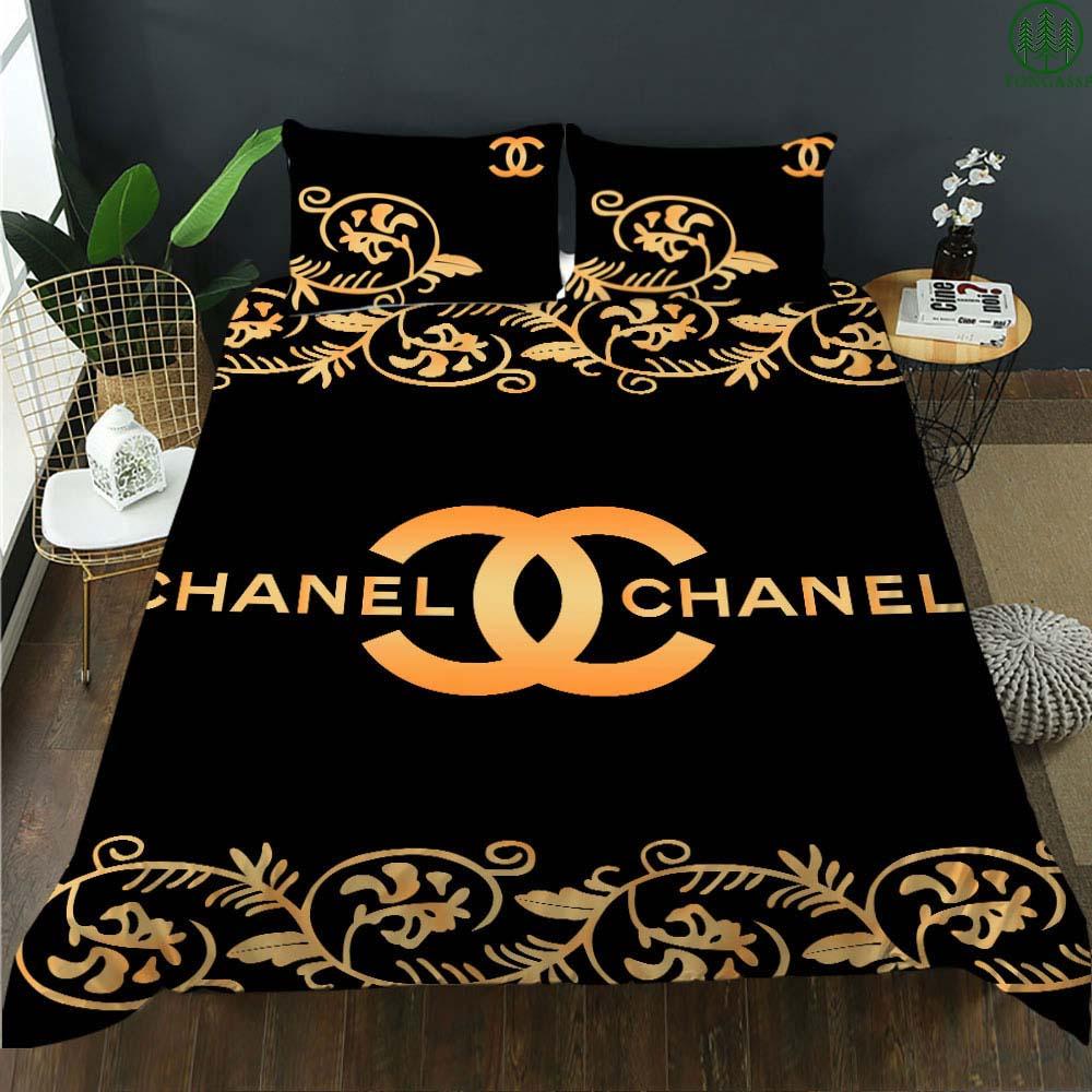 Chanel High-end brand Premium bedding set