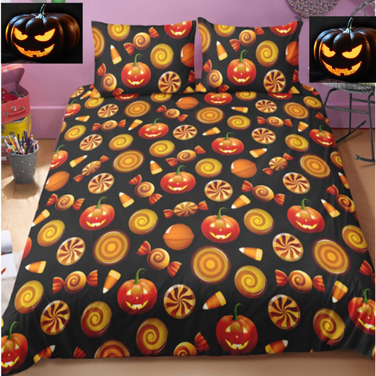 The Halloween Candy Duvet Bedding Set