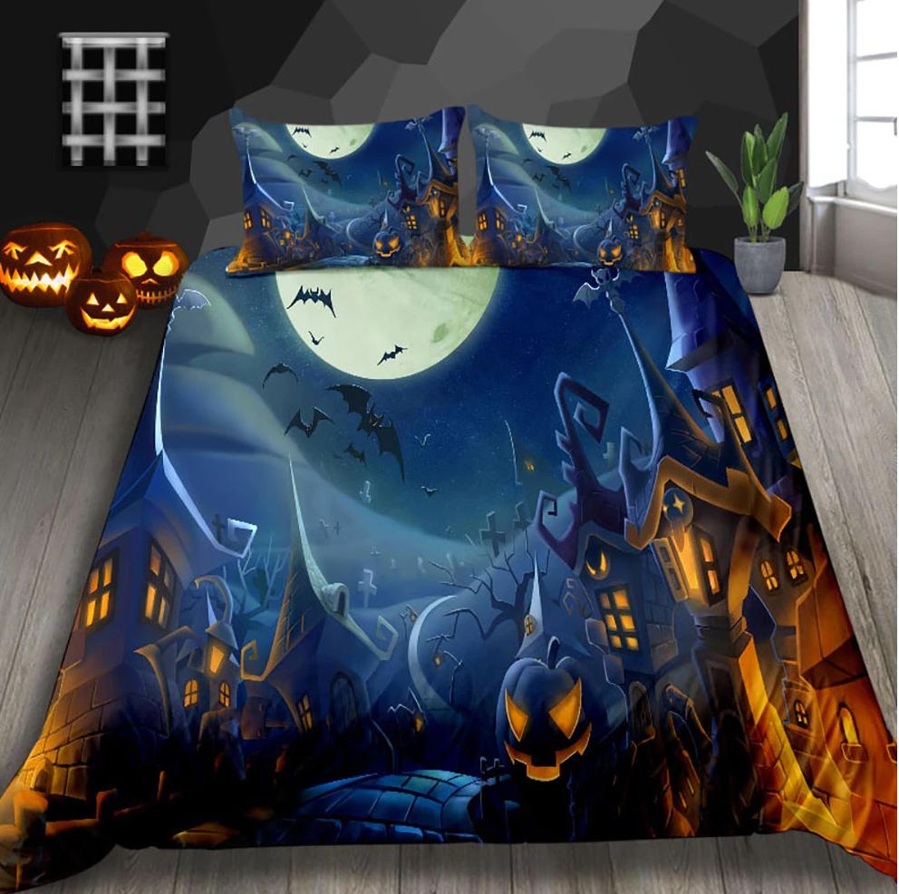 Halloween night at Kingdom Bedding Set