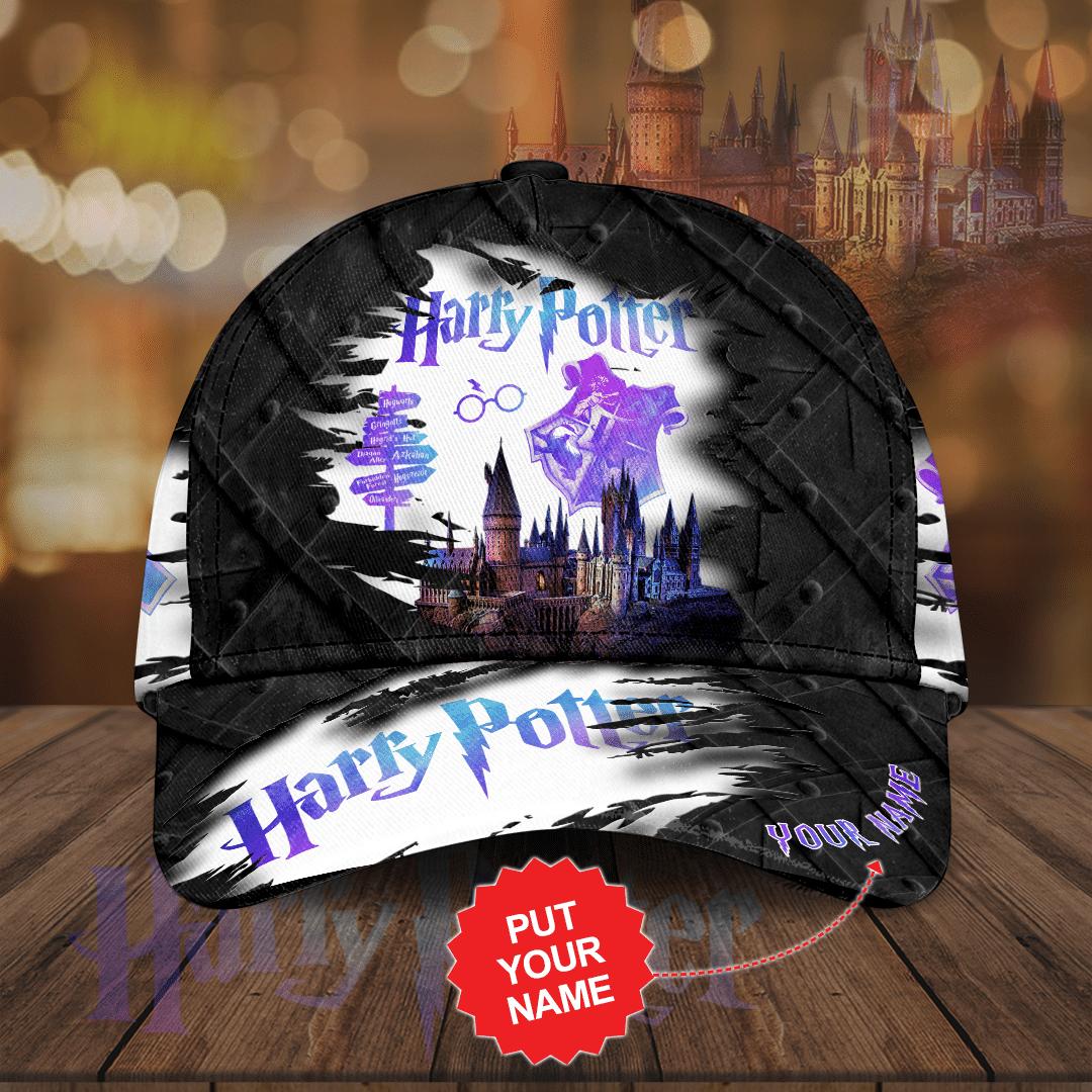 Custom name Harry Potter Full Printed Cap
