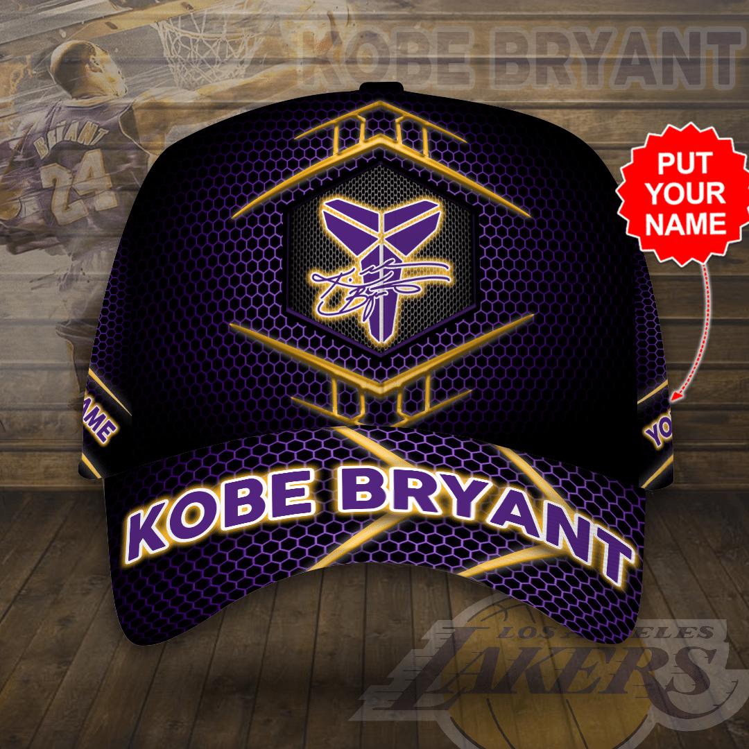 Personalized Name Kobe Bryant Signature Cap