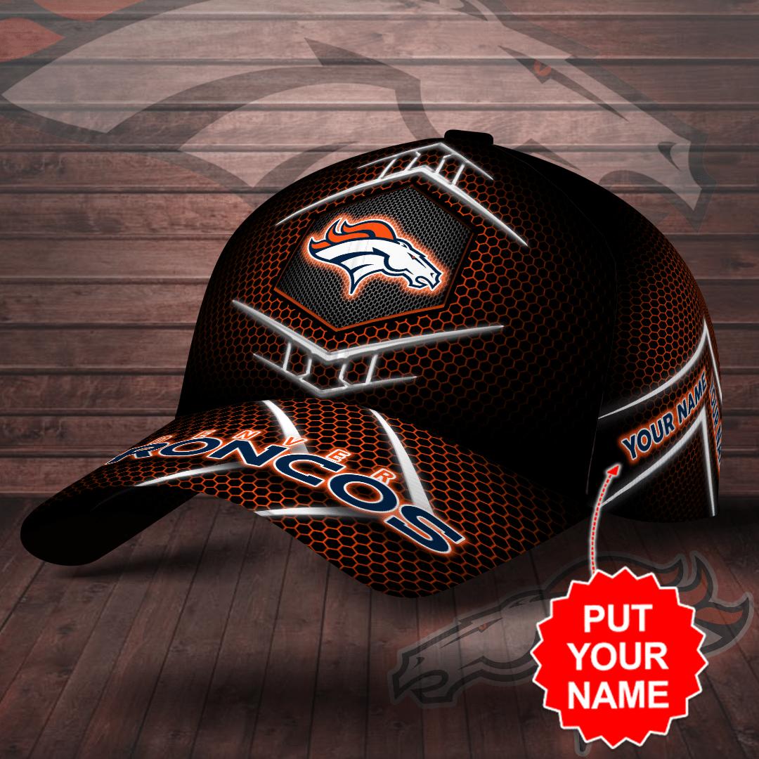 Personalized NFL Denver Broncos Full Printed 3D Cap