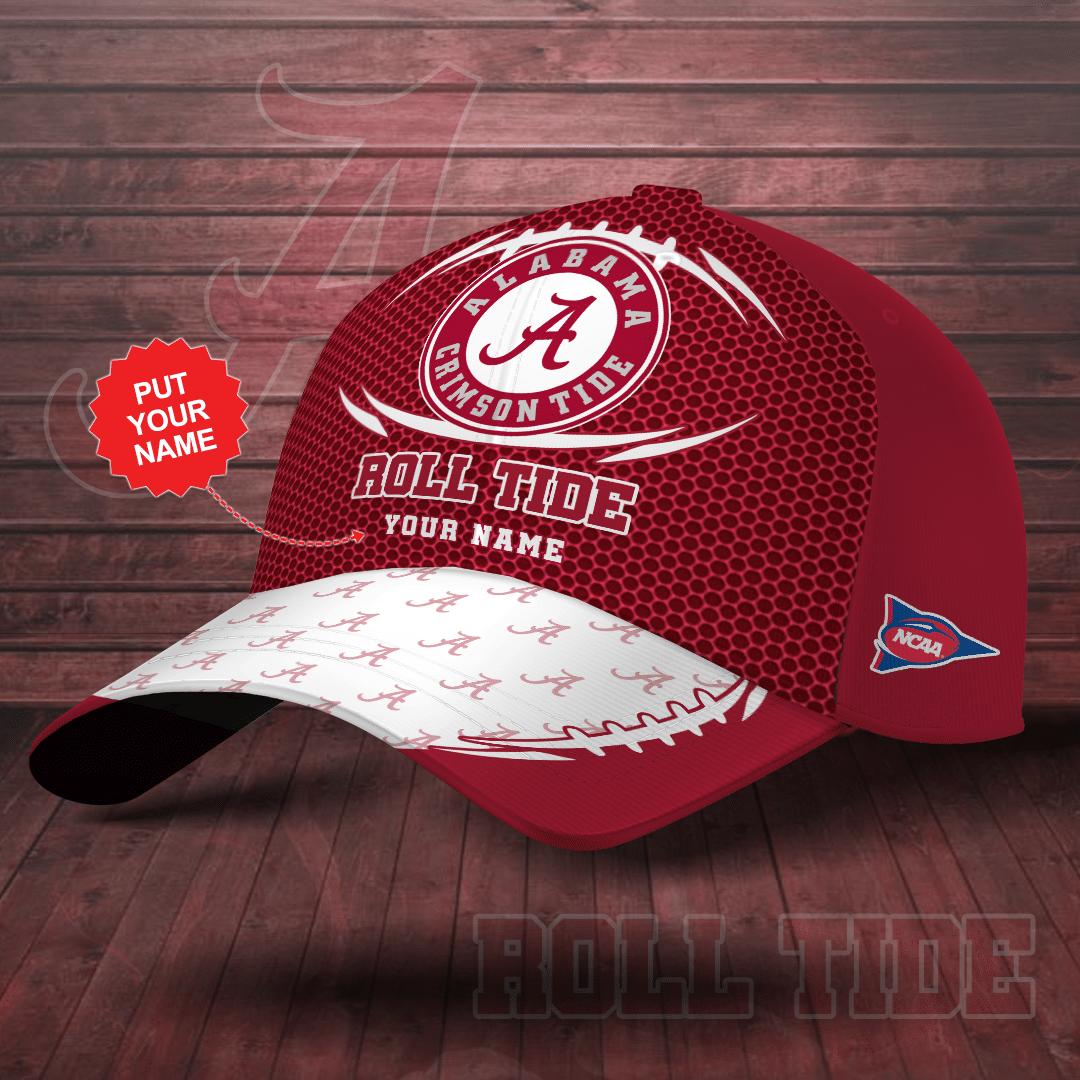 Custom Name Alabama Crimson Tide Printed Cap