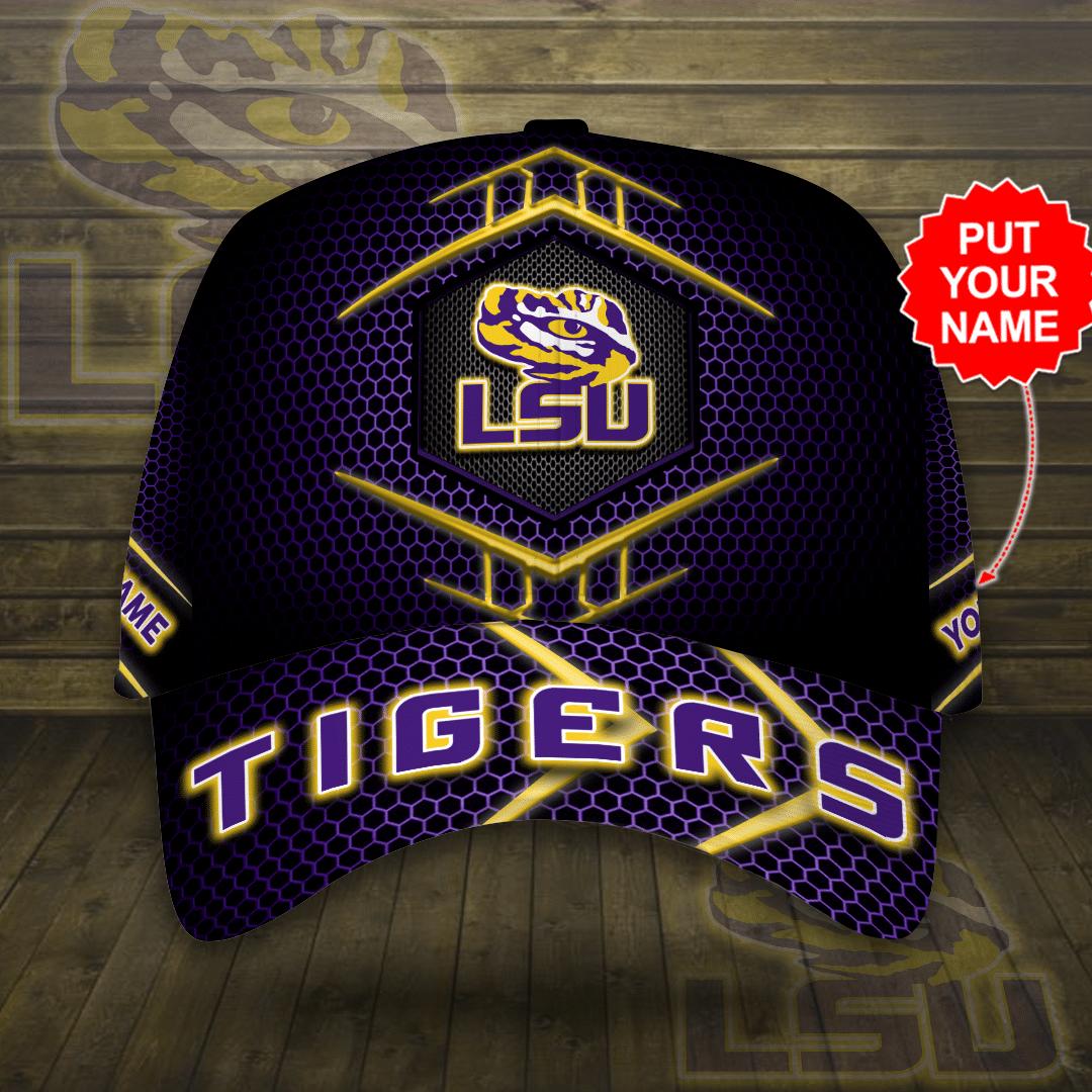 Personalized LSU Tigers Printed Cap