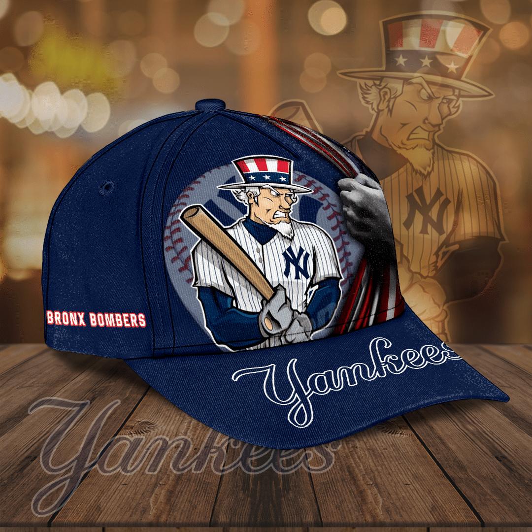 Personalized New York Yankees America baseball Cap