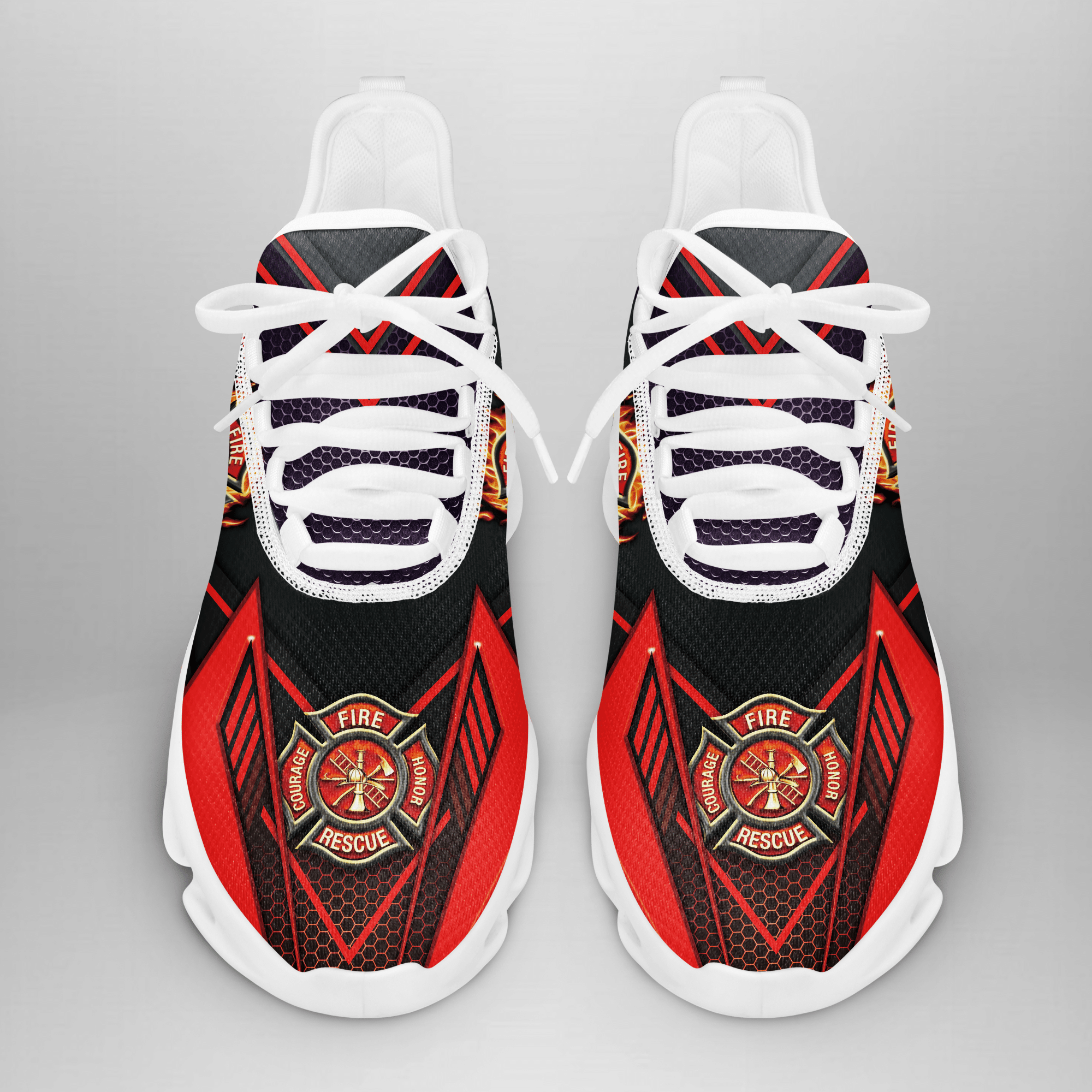 Firefighter Back to the Red Max Soul Replica Sneaker