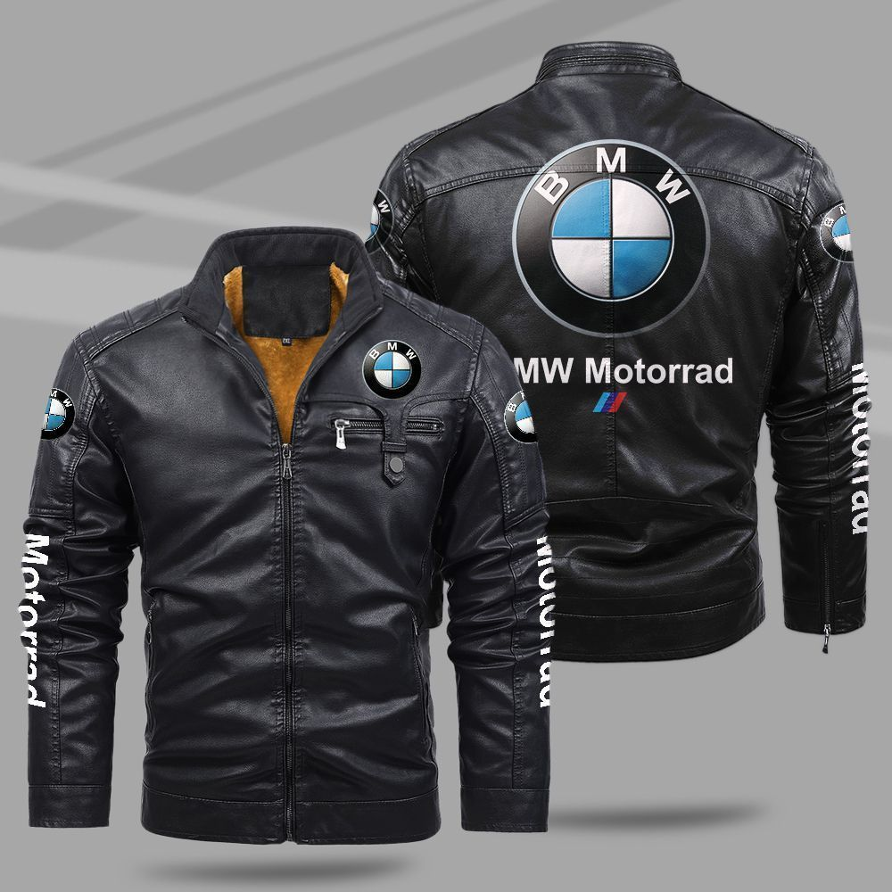 BMW Motorrad Fleece Leather Jacket