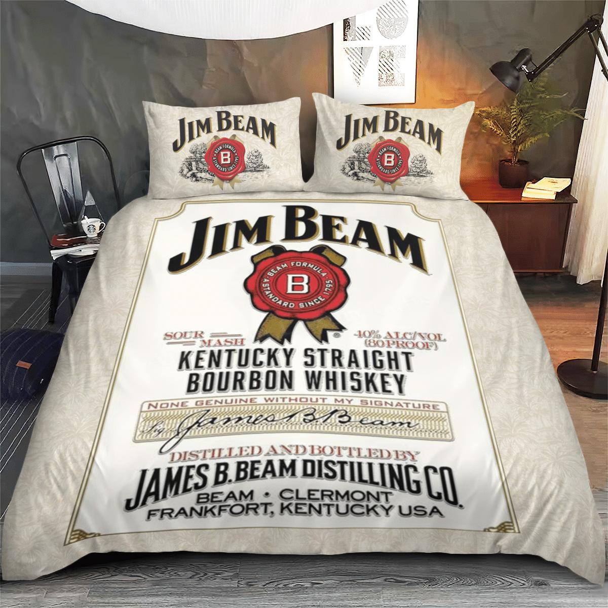 Jim Beam Tropical White Bedding Set