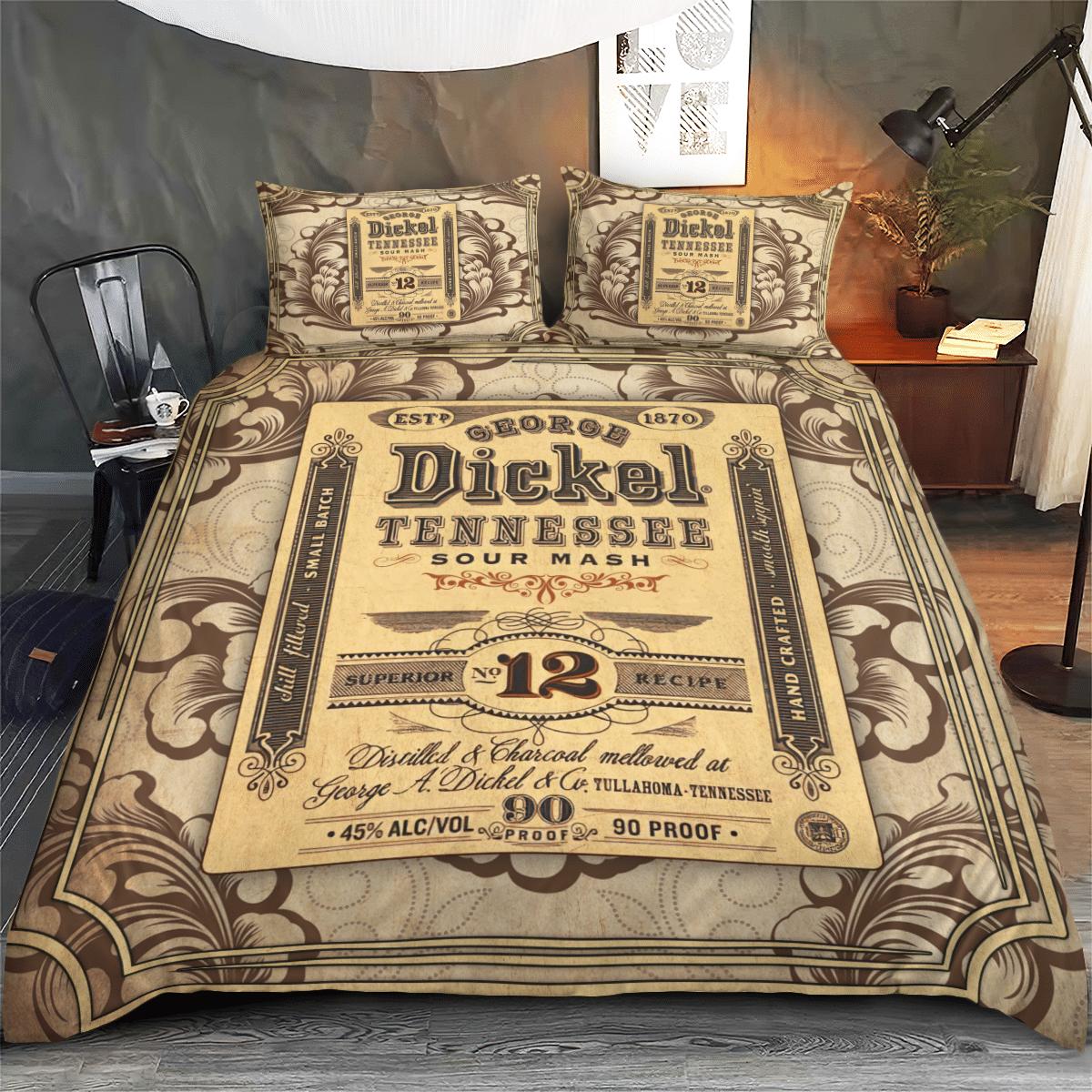 George Dickel Jennessee Vintage Bedding Set