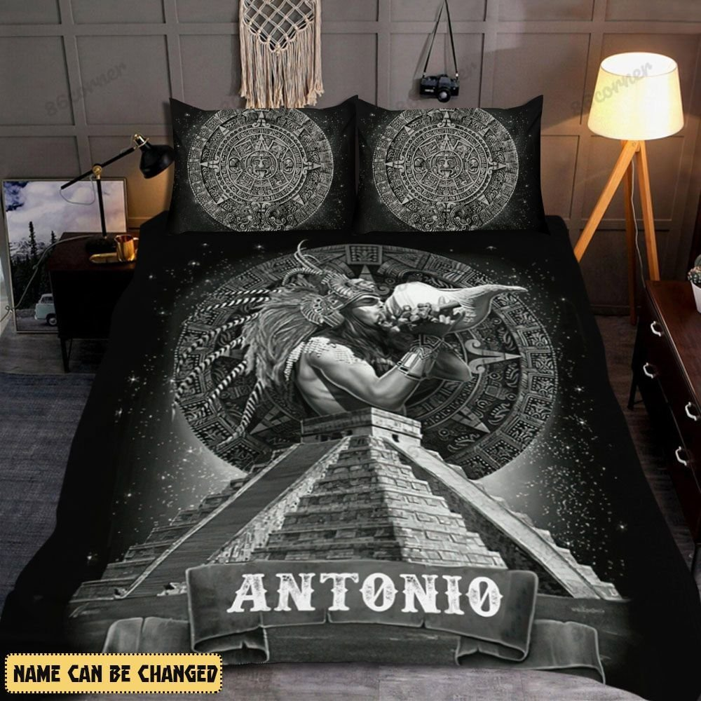 Personalized Mexican Warrior Bedding Set