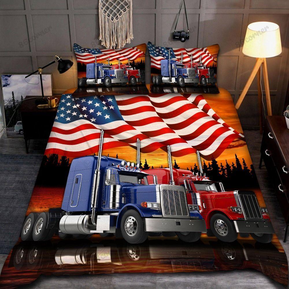 Keep on Trucking Bedding Set