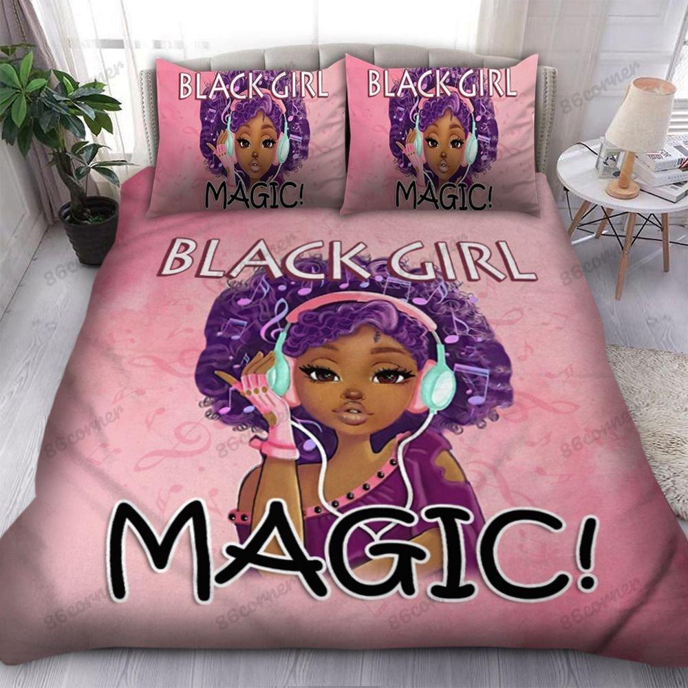 Black girl magic Bedding Set