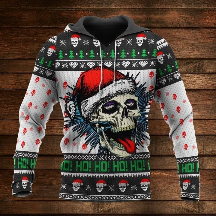Skull Lover Premium 3D Ugly Christmas Sweaters