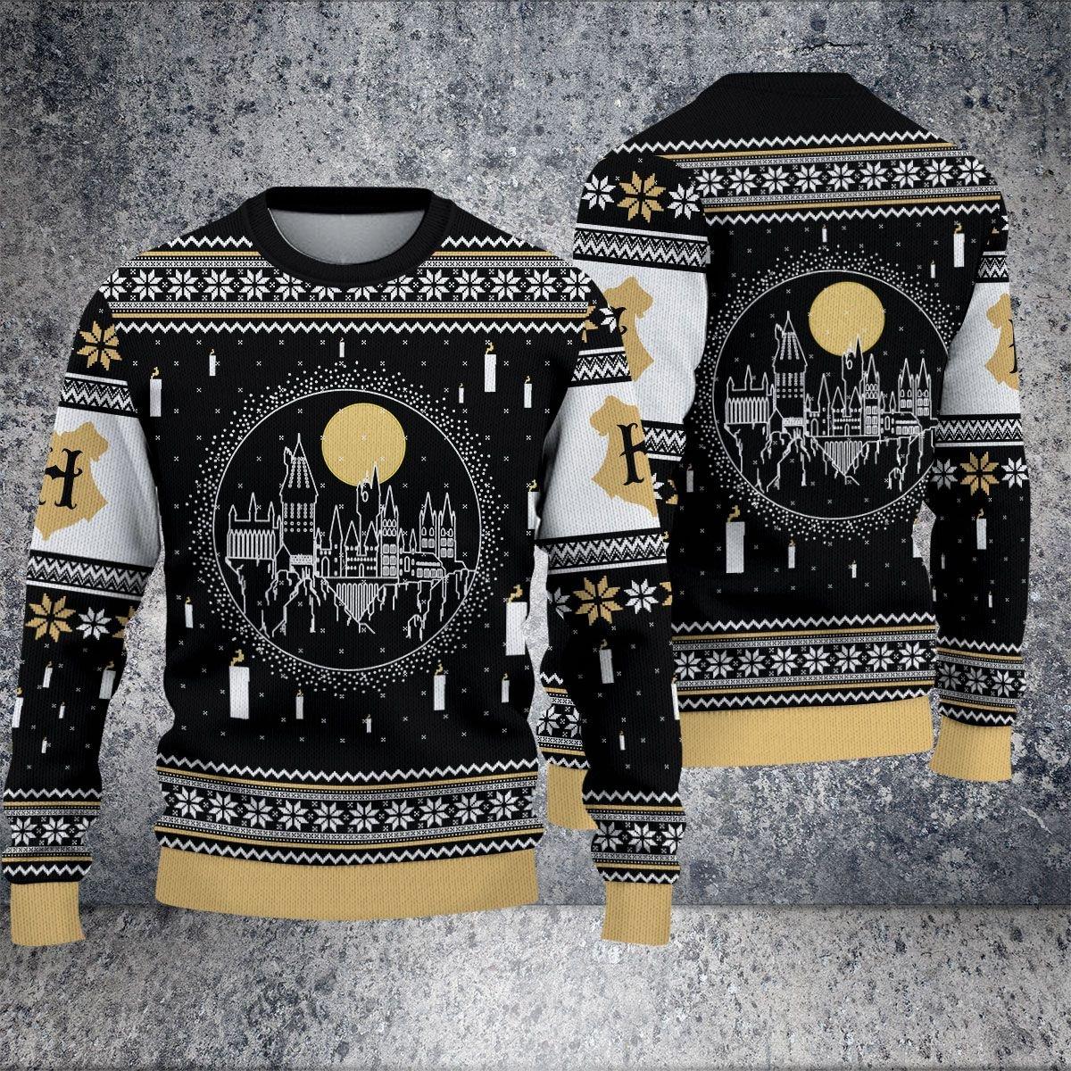 Harry Potter Hogwarts classic Christmas Sweater