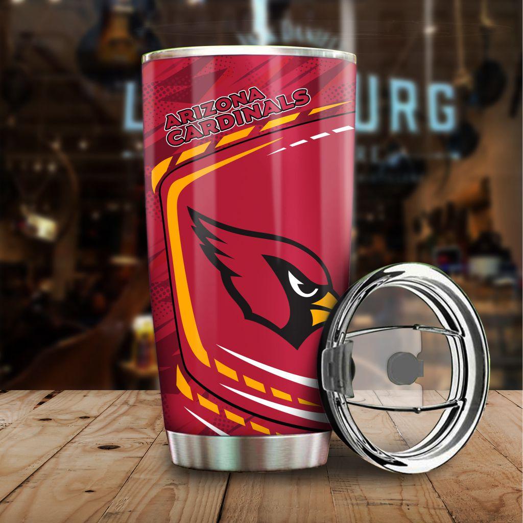 NFL Arizona Cardinals Big Logo New Design Tumbler Cup
