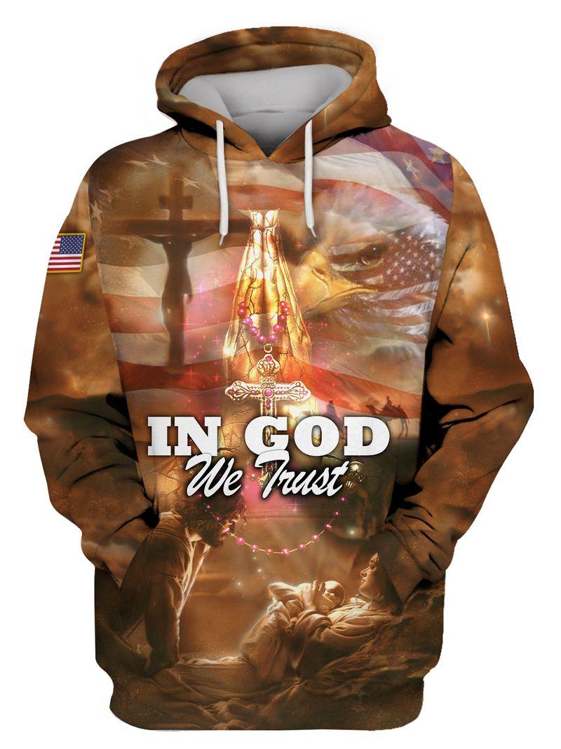 In God We Trust American Hoodie Sweatshirt