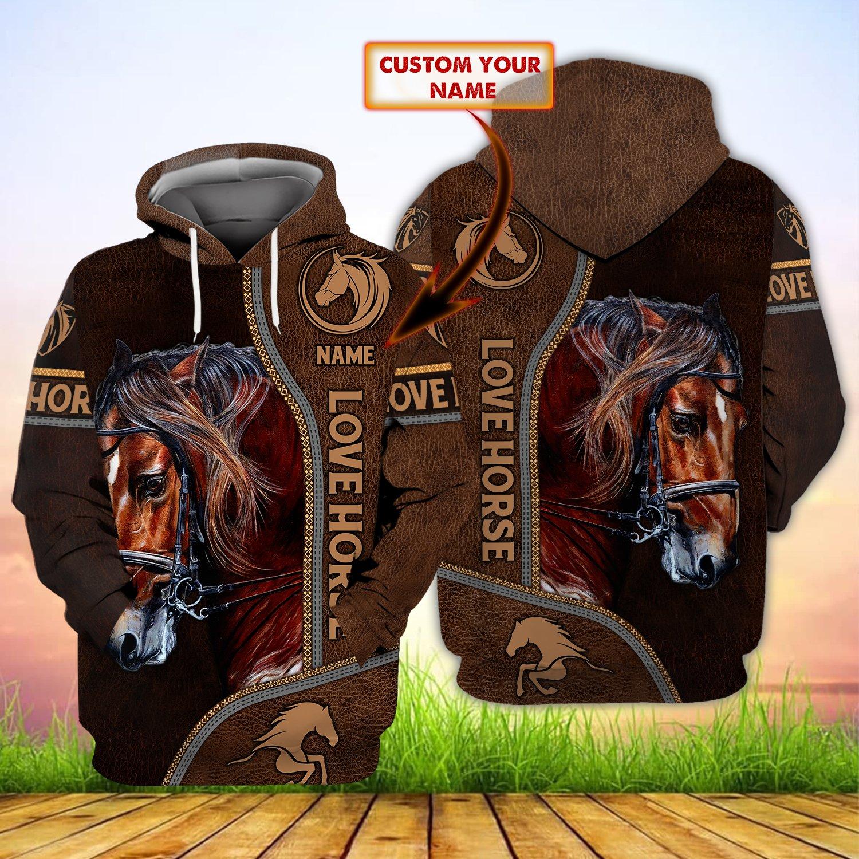 Classic Horse Custom Hoodie