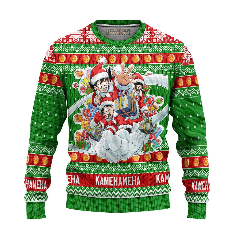 Dragon Ball Anime Unisex Wool Sweater Christmas Gift