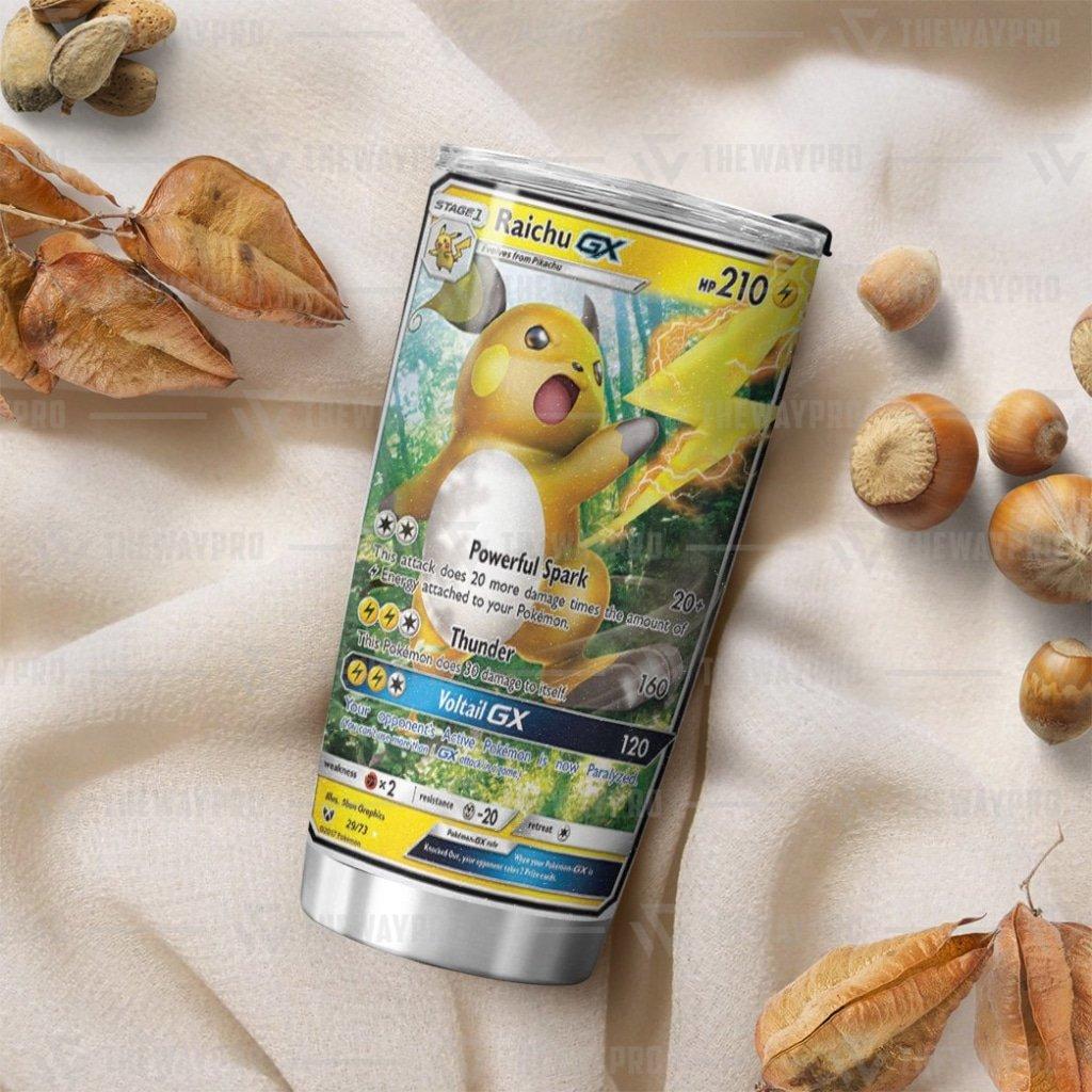 Pokemon Raichu GX Voltail Legends Tumbler Cup