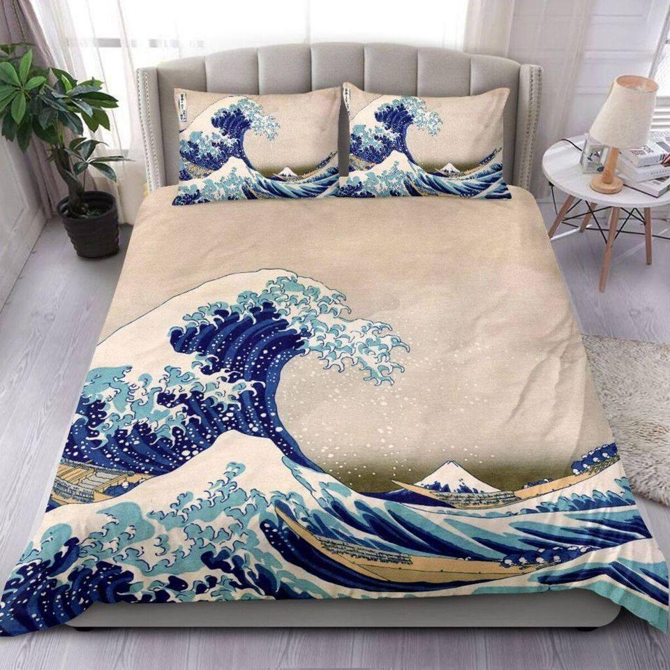Ocean wave amazing style Bedding set