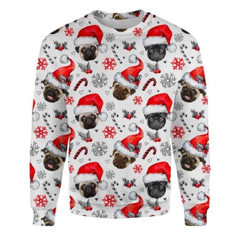 Pug Christmas Premium Sweatshirt